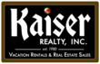 Kaiser Realty, Inc. is a Professional Vacation Rental Management company located in Gulf Shores, Alabama.  Offering the finest vacation homes and beach condos along the Alabama Gulf Coast, Kaiser Real