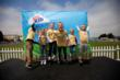 Grand prize winner Abigail (third from left) with finalists at the CLIF Kid Backyard Game Playoffs