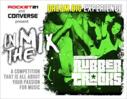 Rocket21 Music Contest at Converse Rubber Tracks