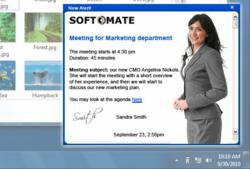 Employee Communication System Launches Desktop Wallpaper Messaging