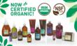 Pangea Organics' Complete Product Line is Now Certified Organic