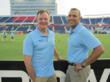 Dr. Jace Provo and Dr. Manish Gupta at the 2012 Major League Lacrosse All-Star Game