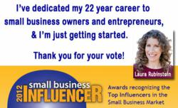 Social Media Marketing Consultant Laura Rubinstein helps small businesses thrive.