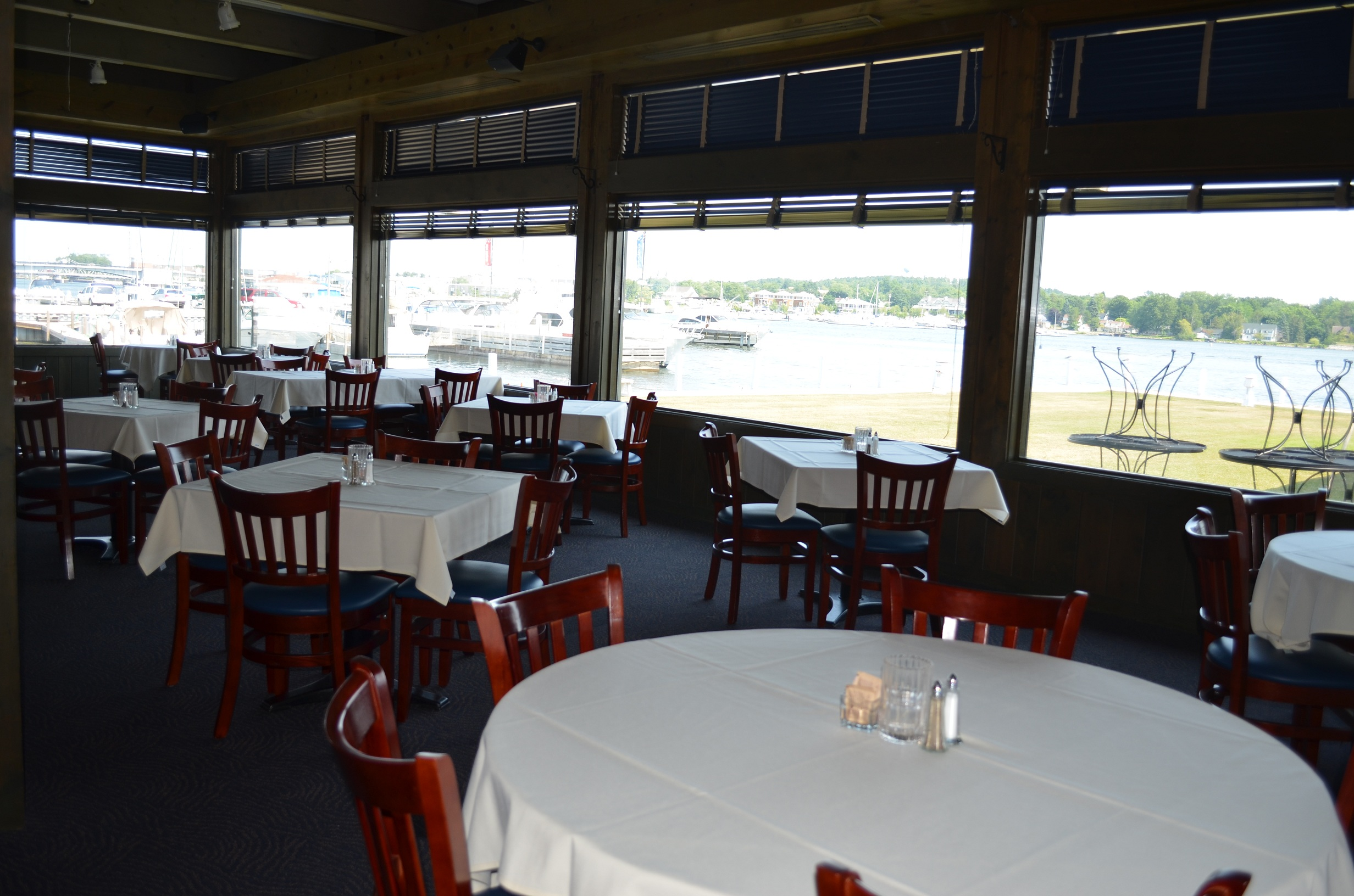 Restaurantfurniture and historic sturgeon bay yacht