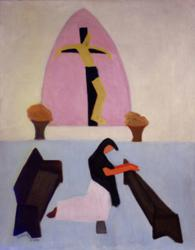 Oil on Canvas by Xion, 1946 Painting