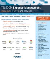 Telecom Expense Management (TEM) National Summit
