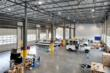 The 15,000 SF IMCO Shop One boasts drive-through bays to accommodate a truck and lowboy, natural lighting, heated floors for productivity, artificial lighting for intricate maintenance. Shops are heat