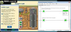 PLC Simulator training software screen shot