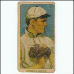 PoliceAuctions.com Walter Johnson Rookie Card