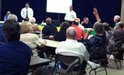 Residents have questions for the Sinkhole Forum