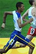 Current UK runner has only a 94-degree stride angle compared to record-holder Sebastian Coe's 110-degree stride angle from decades ago.