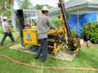Careful attention to a homeowner's property is a high priority during foundation stabilization and sinkhole repairs.