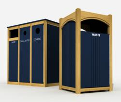 Lamboo® Waste & Recycling Enclosures