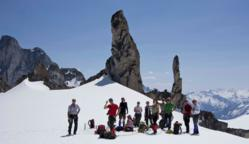 Glacier hike with CMH Summer Adventures