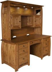Stunning craftsmanship marks the Boulder Creek Desk.