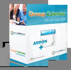 GroupCalendar for Microsoft Dynamics CRM 2011