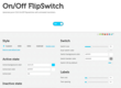 CSS3 on/off flipswitch freebie