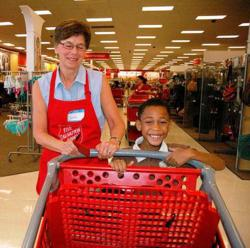Target and The Salvation Army Tampa and St. Petersburg Florida