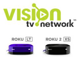 roku on vision tv network