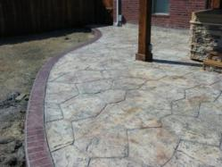 Stamped Concrete Surface by Artisan Decocrete