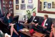 Swingle President John Gibson meets with the Office of US Rep. Cory Gardner (4th District, Colorado)