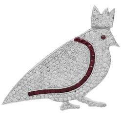5 Boro Custom Diamond Logo Pendant