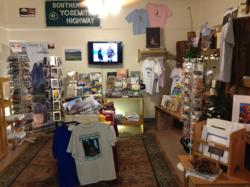 Yosemite souvenirs at the Yosemite Sierra Visitors Bureau www.YosemiteThisYear.com