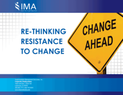 free IMA ebook on Re-thinking Resistance to Change