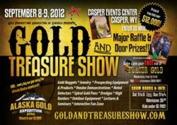 Gold &amp; Treasure Show Flyer