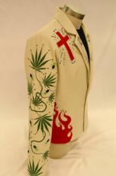 Gram Parsons' Nudie Jacket Rendition - Right Side