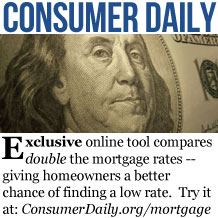Consumer Daily Mortgage Rates