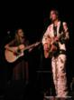Anders Drerup and Kelly Prescott as Gram Parsons and Emmylou Harris