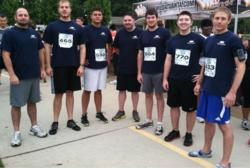 Foundation Financial Group employees run in support of the Atlanta BeltLine