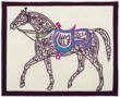 Horse Calligraphy by Hosam Al Farouk