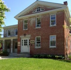 New Burlington Office, birthplace of Vermont Civil War Hero, Theodore Peck.