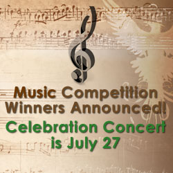 Music Competition Winners Announced