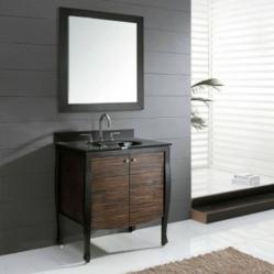 Modern Venisia Bathroom Vanity VENISIA-V30-BK From Avanity