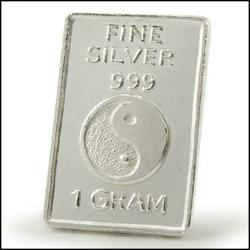 PoliceAuctions.com Collectors 1 Gram .999 Pure Solid Silver Bullion Bar