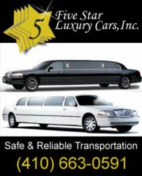Limo Services Maryland