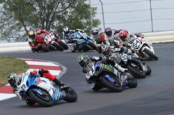 Only four AMA Pro National Guard SuperBike rounds remain in 2012