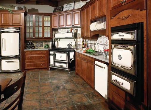 A shopping guide on how to design a french country kitchen Classic home appliance films