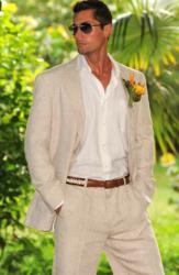 Delave' Linen Suit