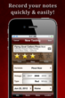 WineAlbum is the easiest way to record tasting notes on the iPhone.