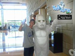 Ryan Sheckler and Yeti Jump Mascot