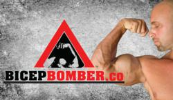 The Nutraloid Labs Bicep Bomber is trademarked and certified genuine.