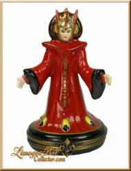 Star Wars Queen Amidala Limoges Box www.LimogesBoxCollector.com