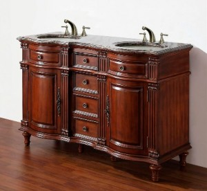 Legion wm6554 55 antique bathroom vanity antique cherry finish - A Shopping Guide On What To Look For In Traditional