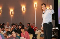 Rick Otton discusses his real estate investment strategies in one of his training events