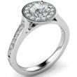 Round Brilliant Cut Tiffany Legacy Style Engagement Ring  Image