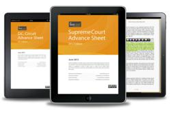 www.fastcase.com/eBooks eBook Advance Sheets